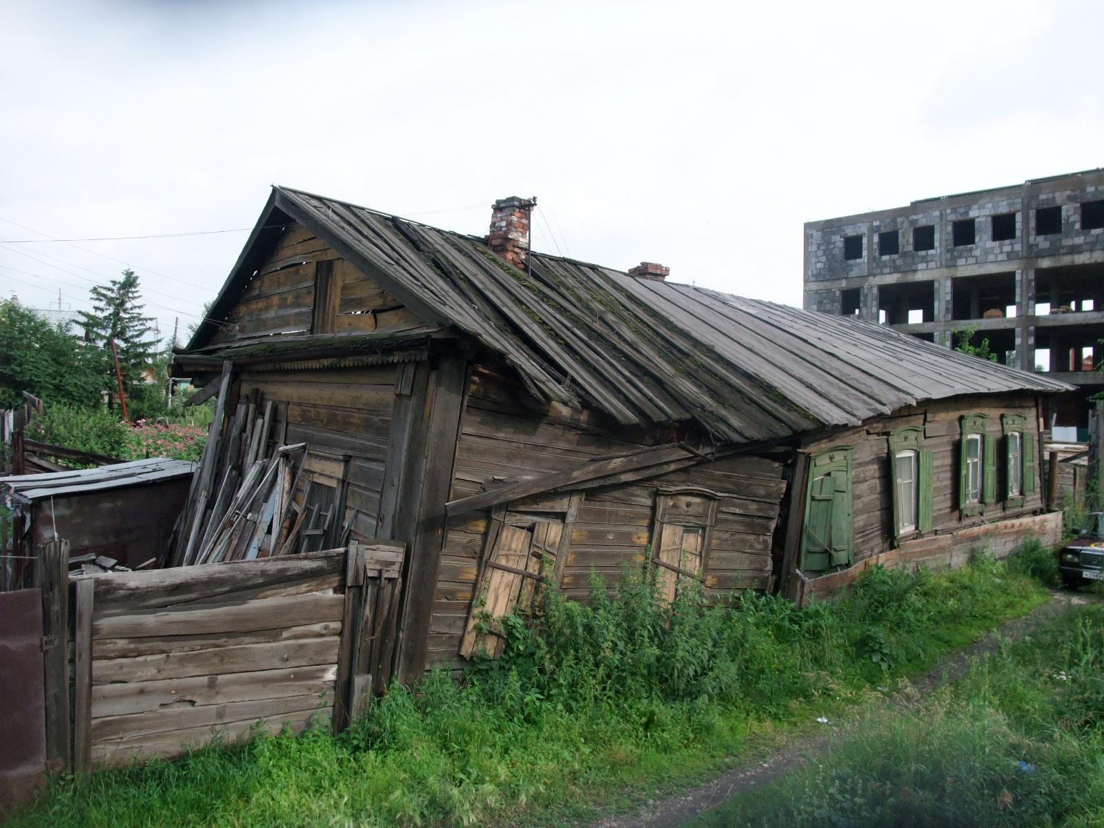 Vår gamle slitte rønne... her fra Irkutsk, Sibir, Russland
