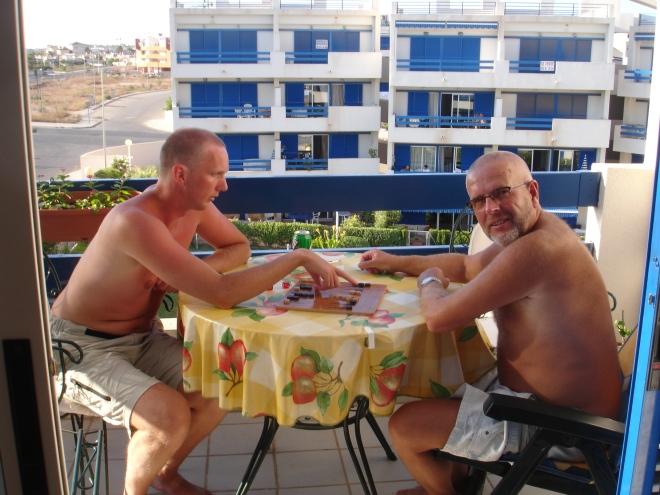 Far og jeg, Spania 2007
