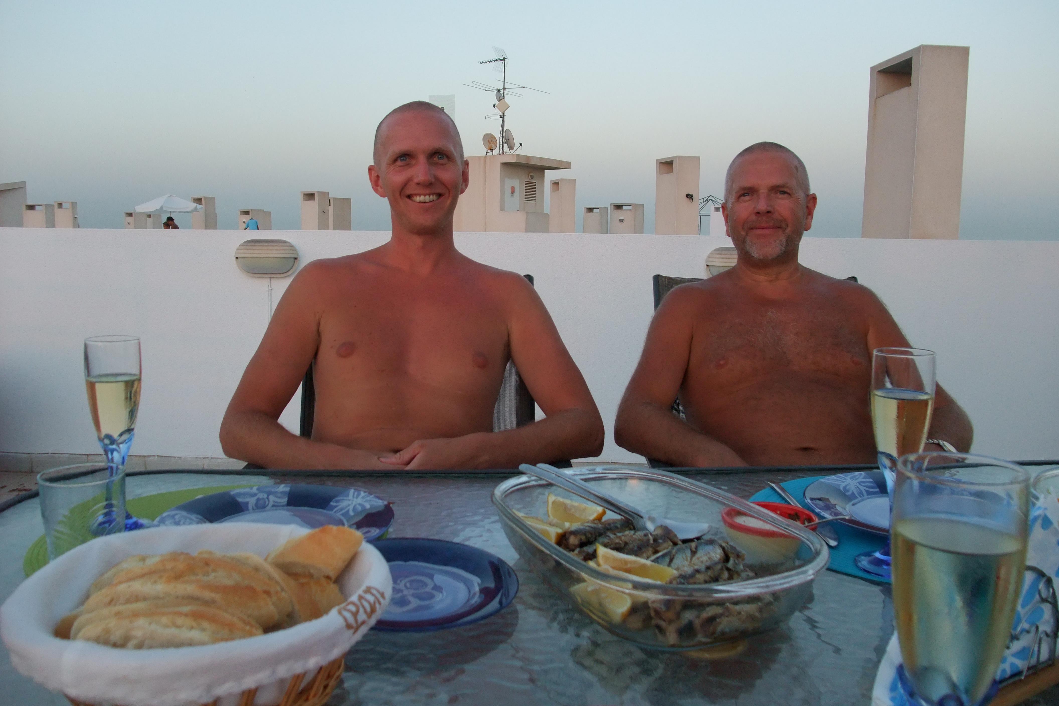 Far og jeg, Torrevieja, Spania