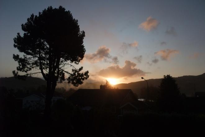 Morgen, Ganddal