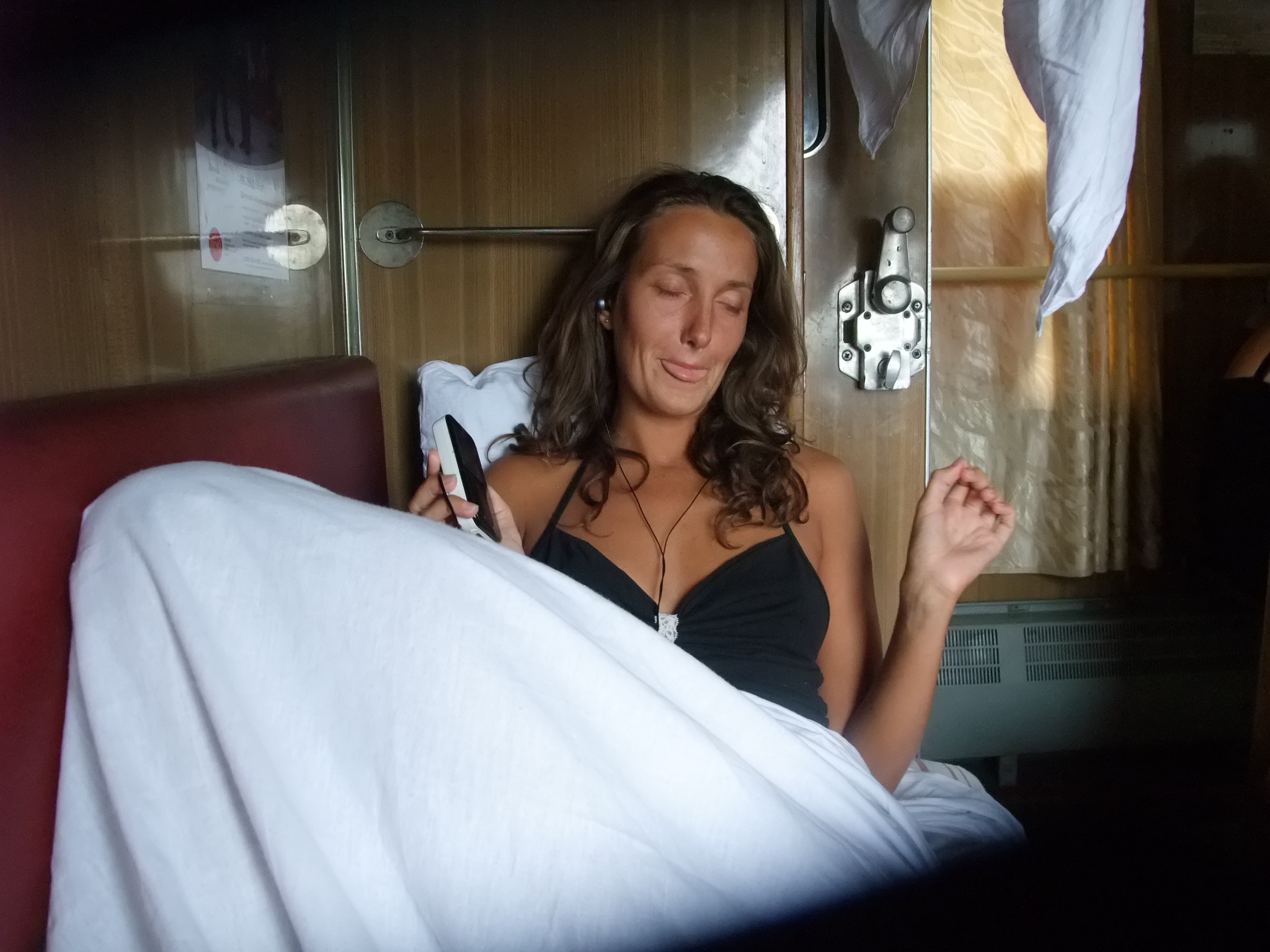 Olia, Bach, Tog Simferopol - Kiev, 2009