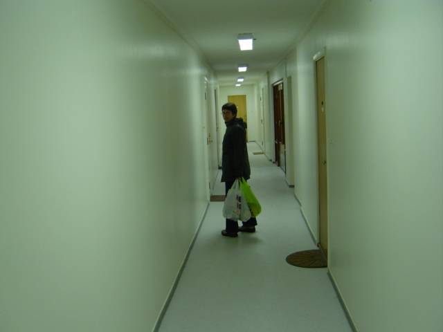 Jente, korridor