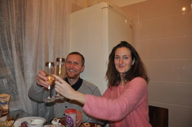 Champagne, Skål, Nyttårsaften, Kiev, Petsjersk