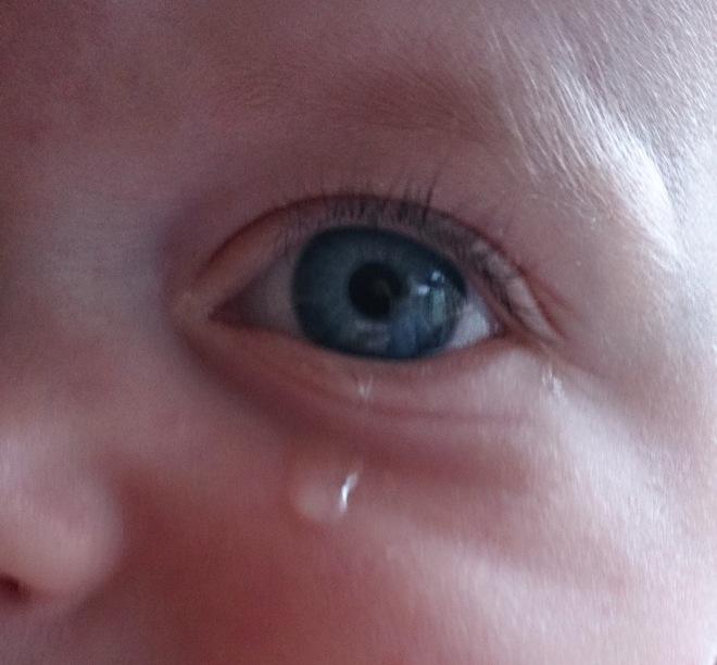 Barnegråt, Barnetåre, Trist