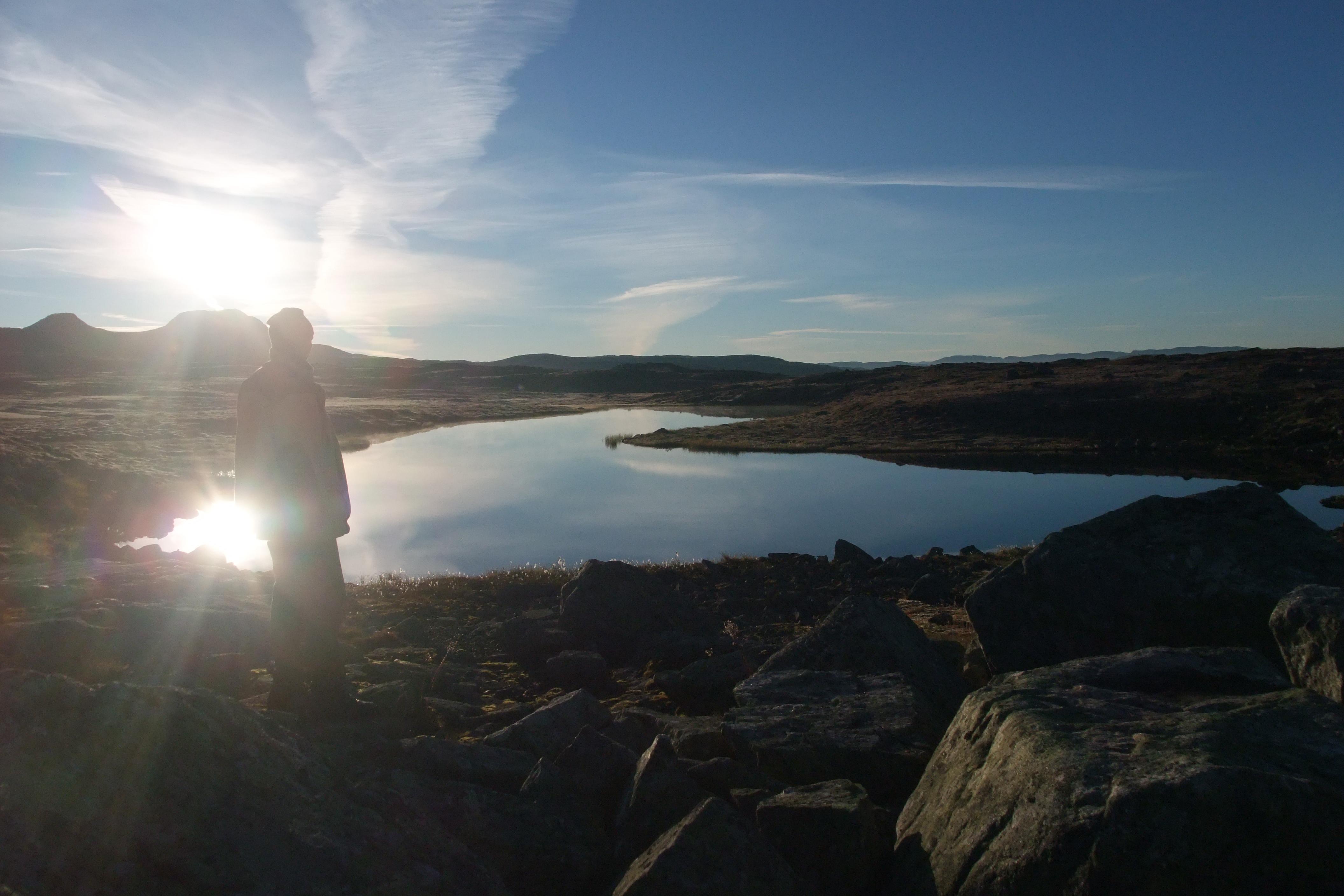 Morgen, Fjell, Hardangervidda, Zueignung
